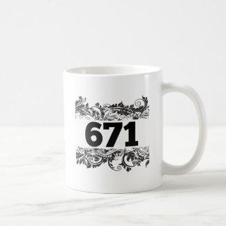 671 TAZA BÁSICA BLANCA