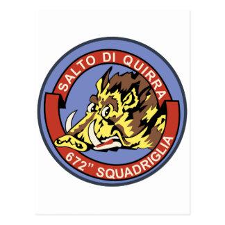672^ Squadriglia Postcard