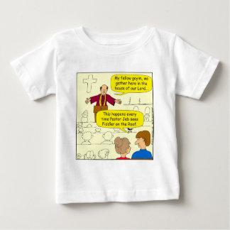 673 Pastor goes to Fiddler Cartoon Baby T-Shirt