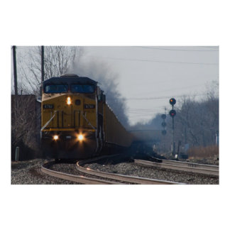6761 Head on Poster