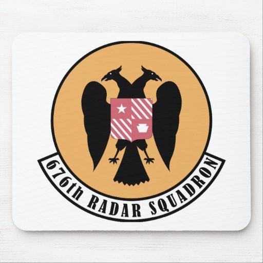 676o Escuadrilla del radar Tapete De Raton