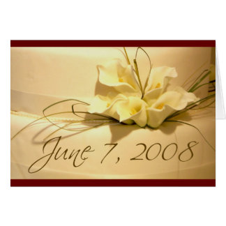 678 - Save the date for June 7, 2008 Card