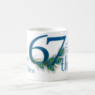 # 67 - 67th Wedding Anniversary or 67th Birthday Coffee Mug