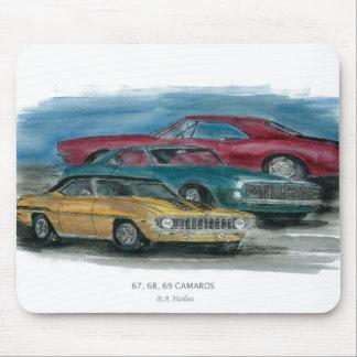 67, 68, 69 Camaro Mouse Pad