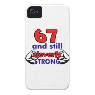 67 birthday design iPhone 4 Case-Mate case