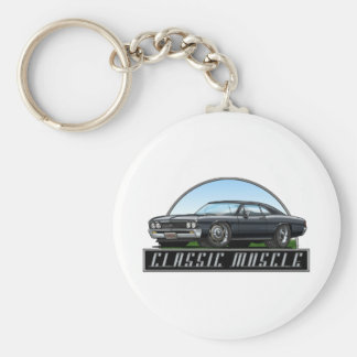 67_Chevelle_Black Keychain