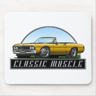 67 Chevelle Convertible Mouse Pads