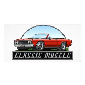 67 Chevelle Convertible Photo Card