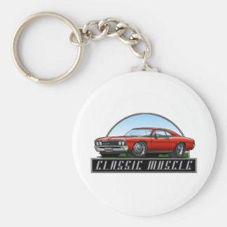 67_Chevelle_Red Keychain