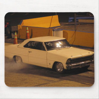 67 chevy nova burnout mouse pad