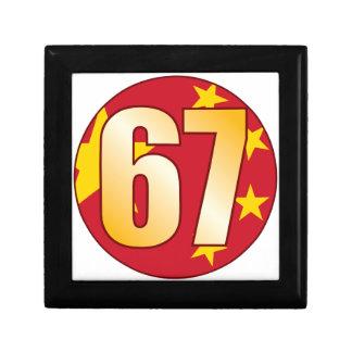 67 CHINA Gold Keepsake Box
