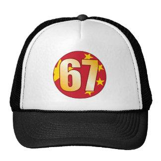 67 CHINA Gold Trucker Hat