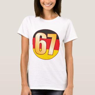 67 GERMANY Gold T-Shirt