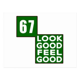 67 Look Good Feel Good Postcard