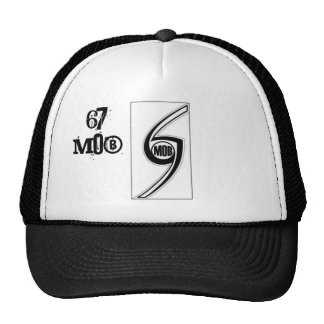 67 MOB OFFICIAL GROUP LOGO TRUCKER HAT