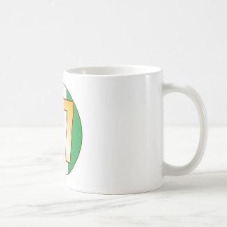 67 NIGERIA Gold Coffee Mug