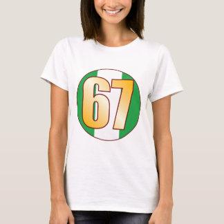 67 NIGERIA Gold T-Shirt