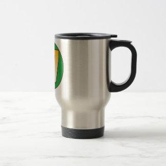 67 NIGERIA Gold Travel Mug