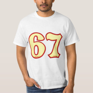 67 old school bmx #s T-Shirt