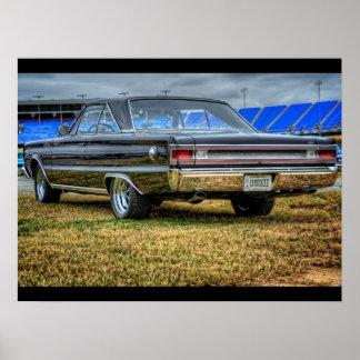 '67 Plymouth GTX Poster