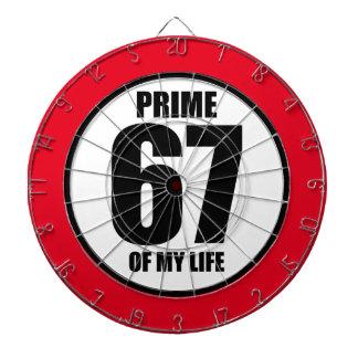 67 - prime of my life dart boards