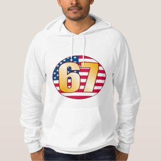 67 USA Gold Hoodie