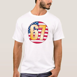 67 USA Gold T-Shirt