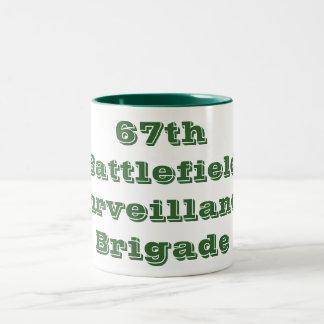 67th Battlefield Surveillance Brigade Two-Tone Coffee Mug
