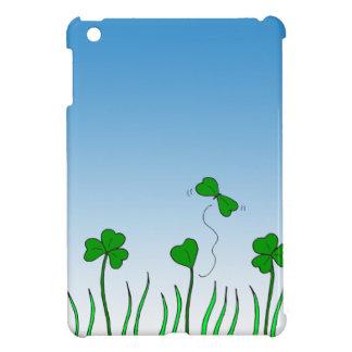 684 clover butterfly cartoon iPad mini cover