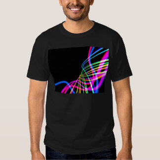 686 COLORFUL DIGITAL SWIRLS BACKGROUND WALLPAPERS T-SHIRT