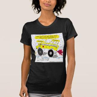 686 Monster school bus cartoon T Shirt