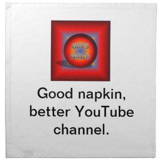 6875Mitch Logo Napkin