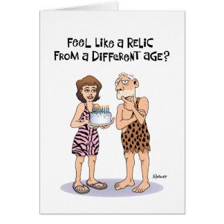 68.a tarjeta de cumpleaños divertida para los homb