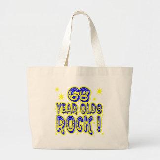 ¡68 años de la roca! La bolsa de asas (del azul)