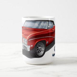 68 Buick GS en rojo del escarlata Tazas