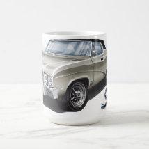 68 Buick Skylark in Artic White Coffee Mug