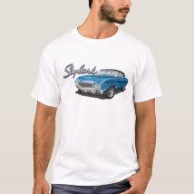 68 Buick Skylark in Blue T-Shirt