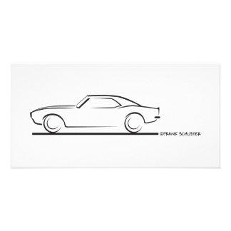68 Camaro Hard Top BLK Card