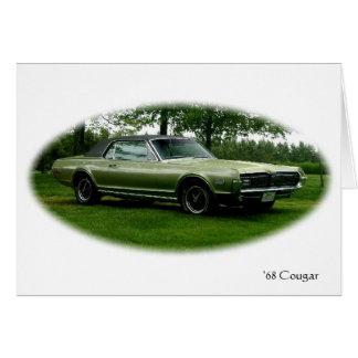 '68 Cougar Card
