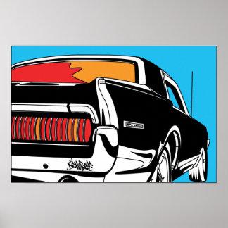 '68 Cougar Poster