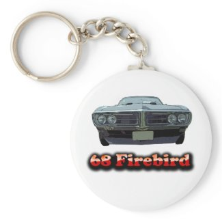 68 Firebird Keychain keychain