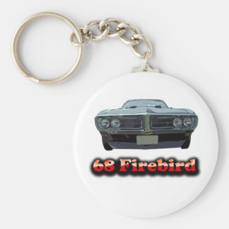 68 Firebird Keychain