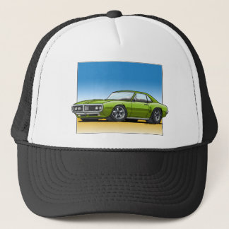 68 Firebird OLIVE Trucker Hat