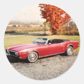 '68 Firebird Sticker