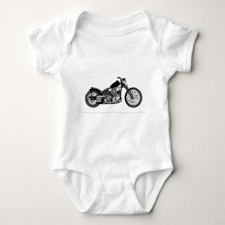 68 Knuckle Head Motorcycle Baby Bodysuit