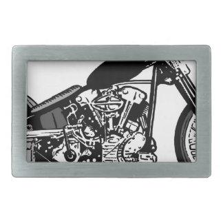 68 Knuckle Head Motorcycle Rectangular Belt Buckles