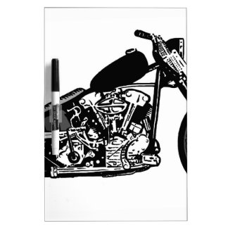 68 Knuckle Head Motorcycle Dry Erase Whiteboards