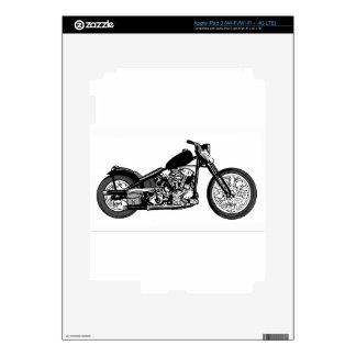 68 Knuckle Head Motorcycle iPad 3 Decal