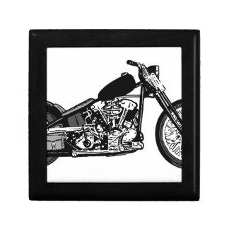 68 Knuckle Head Motorcycle Keepsake Box