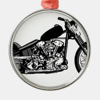 68 Knuckle Head Motorcycle Metal Ornament